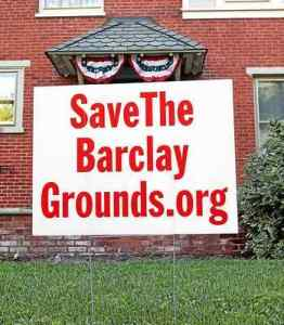 The Barclay Grounds will remain preserved after efforts from the West Chester community. (Daily Local News)