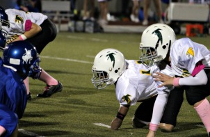 Gaven Toney, born without hands or feet, doesn't let them stop him from playing sports. (Patrick K. Henry)