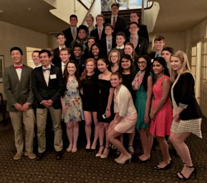 "Chester County's Youth Leadership Program celebrated and ""graduated"" its 2016 class during a banquet at the Radley Run Country Club on Thursday. (Candice Monhollan)"