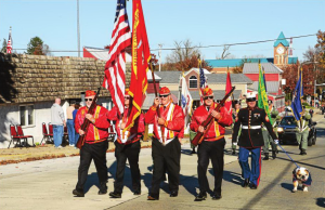 Hundreds were on hand at the annual Veterans Day Parade Sunday in West Chester to honor those who have served to protect the country. (Daily Local News)