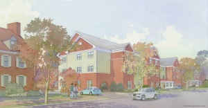 The Hickman's Sharpless-Hall Building will be torn down in favor of a new, larger building to house more personal-care residents. (The Hickman)
