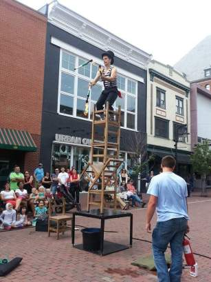 West Chester Borough Council is looking to pass a busking ordinance, which will allow street performances, but under certain regulations, including during certain times and at certain locations. (Lisa Suckstorf)