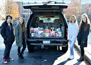 West Chester Henderson High School's National Art Honor Society raised money and purchased art supplies to donate to the Andrew Jackson School in Philadelphia. (Daily Local News)