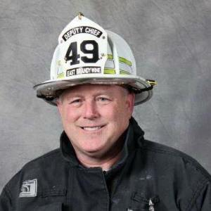 East Brandywine Deputy Fire Chief Joseph Edwards was in the right place at the right time as he used an AED and performed CPR on a man who collapsed in front of him on Friday afternoon. (Joseph Edwards)